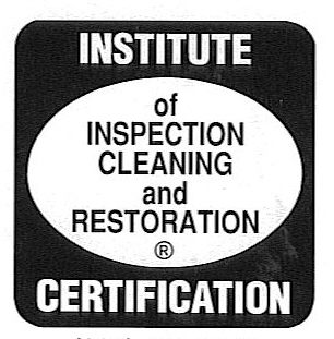 IICRC Certified E.F. Winslow