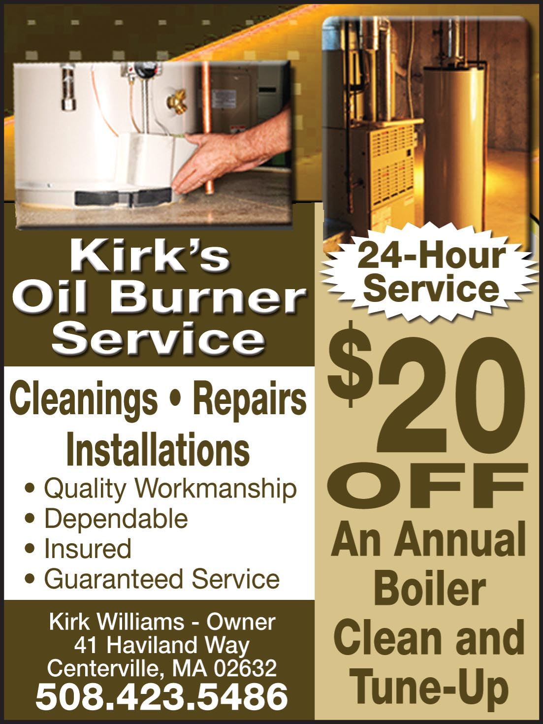 Oil Burner Service Cape Cod Homeowners Resource Guide