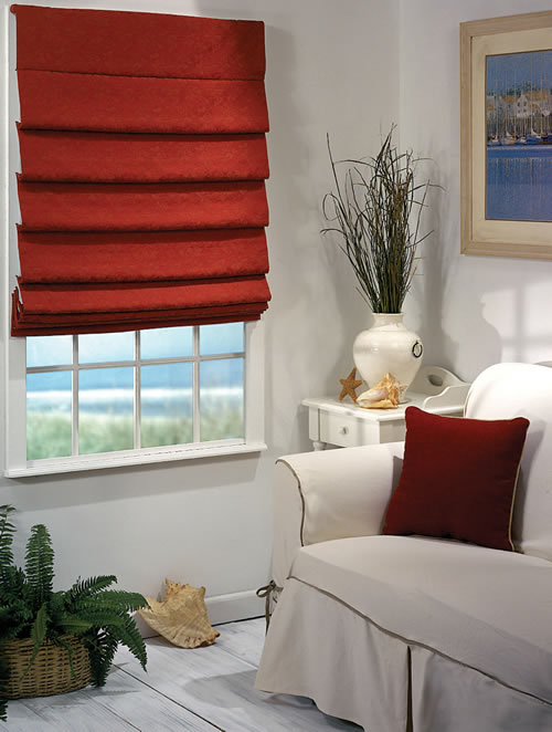 blinds roman shades