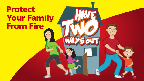 Fire Prevention Week-2012-2 ways out family